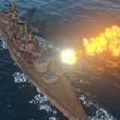 [gamescom]戦艦「長門」の主砲が火を噴き,駆逐艦「吹雪」が縦横無尽に航行。「World of Warships」のデモプレイで新情報が次々と明らかに