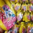 『プリキュア・バナナ』3種類が期間限定で販売中! 32種類のシールからキュアフォーチュンを探してみるよ!
