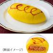 本物そっくりのオムライスパン、ケチャップライスと薄焼き卵を包む。
