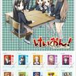 「けいおん!」原作版とアニメ版の切手セットを発売
