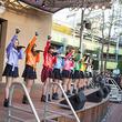 SUPER☆GiRLS 元Folder5のAKINAの振り付けでビビる大木考案のダンスも披露