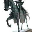 埼玉県立歴史と民俗の博物館で『戦国BASARA』起用の特別展開催―政宗騎馬像や、ゲーム使用墨絵原画を展示