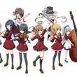 「がをられ」の竹井10日原作、音楽マンガ「がくだん!」コンプエースで開幕
