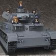 アニメ『ガールズ&パンツァー』より「IV号戦車D型」の組立て済み1/12スケール電動モデル「figma Vehicles IV号戦車D型 本戦仕様」が登場!