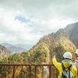 トロッコ電車で黒部峡谷の奥地に広がる絶景を目指す