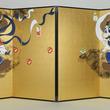 """マリオとルイージが風神と雷神に!? """"マリオ&ルイージ図屏風""""が制作!――琳派400年と『スーパーマリオ』30周年を記念"""