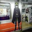 『終わりのセラフ』『境界のRINNE』などでデコったアニメ列車「京まふ号」が、東西線でも運行開始に