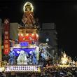関東の三大祭、茨城県の常陸國總社宮例大祭が開催