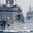 自衛隊観艦式2015 掃海母艦うらがに乗艦して
