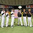 石橋貴明が「侍JAPAN」とリアル野球BANで対戦