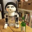 ぼっちに朗報! 一緒にお酒を飲んでくれる晩酌ロボットがありがてぇ