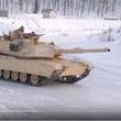【動画】アメリカ軍「戦車で氷上ドリフト走行してみた」 思ったよりドリフトしてた