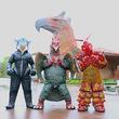 怪獣街ぶら番組『ウルトラ怪獣散歩』2ndシーズン突入 初回ゲスト怪獣はヒドラ