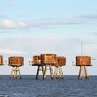 【胸アツ】第二次世界大戦中に建設された「海上要塞」が完全にゲームの世界だと話題に