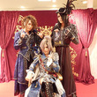 Versailles×渋谷マルイ、「ヴェルサイユ宮殿〜玉座の間〜」にメンバー来店