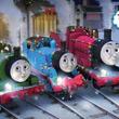 「きかんしゃトーマス」原鉄道模型博物館でウィンターイベント実施、トーマスやパーシーが走行するゲージジオラマなど展示
