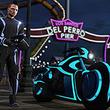 「GTAオンライン」に新たな敵対モード「デッドライン」が登場。「トロン」ライクな超速バイク「ナガサキ ショータロー」で駆け抜ける