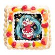 「初音ミク」のクリスマスケーキ!書き下ろしデザインで登場