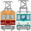 京阪電鉄の特急車両1900系と大津線80型が鉄道コレクションに!