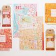 ネタになる!!名古屋市の地図がデザインされた文房具