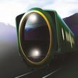 比叡山と鞍馬山の神聖な気の循環を「楕円」で表現 叡山電車の新デザイン観光車両、来春デビュー
