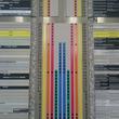 都庁のエレベータ案内板が、「私鉄の路線図」と完全に一致