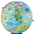 新しい世界旅行のかたち!?史上初の球体すごろく「地球まるごとすごろく」がメガハウスより登場!!