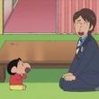 『クレヨンしんちゃん』×『世界ルーツ探検隊』夢のコラボが実現! MC・中丸雄一さんがアニメで登場し、野原家のルーツを探る!