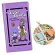 「ジョジョの奇妙な冒険」の「トト神」予言書の手帳型ケース