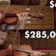 あなたは違いがわかる? 安いバイオリンと28万ドルのバイオリンを弾き比べ!