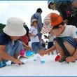 連日大賑わい!六甲山 真夏の雪まつり「宝さがしゲーム」