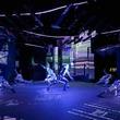 狂言・野村万蔵と現代のLEDパフォーマンスが融合。2日限りの現代アートステージ開催