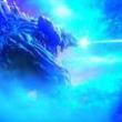 """アニメ映画「GODZILLA 怪獣惑星」ゴジラが""""熱線""""で地球を切り裂く本予告"""