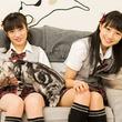 【NMB48】ちっひーとあーやんがモフモフ!猫カフェで推しニャンと遊んできたよ!