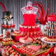 お嬢様になりきり!? イチゴと仮面舞踏会がテーマのブッフェ | 「いちごに恋するマスカレード」~ストロベ リーデザートブッフェ~