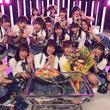 """SKE48 チームE""""17人で""""佐藤すみれが最後の歌番組収録"""