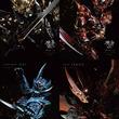 『牙狼<GARO>神ノ牙-KAMINOKIBA-』から魔戒騎士(流牙、猛竜、哀空吏)+ジンガのポスタービジュアル8種を解禁