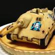 まさに『ガールズ&パンツァー』の戦車喫茶!生徒会・カメさんチームが搭乗した戦車「ヘッツァー」のケーキを作成!!【ニコ動注目動画】