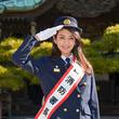 田中道子、ドラマ以外で初の制服姿