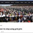 F1がグリッドガールを廃止決定!それってどういうことなの?
