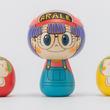 「Dr.スランプアラレちゃん」がこけしに!伝統工芸と人気キャラがコラボ