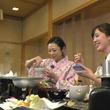 ふじポンと石橋アナが岩手・八幡平の冬の魅力をたっぷりと紹介