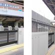 ~ さらに、安全、安心にご利用いただくため ~ 緑地公園駅・桃山台駅で「可動式ホーム柵」を使用開始します