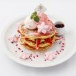 桜色の春限定メニュー『SAKURA』My favorite pancake ~PANCAKE~SAKURA&STRAWBERRYso cute!!2018年3月15日(木)より期間限定で販売開始