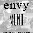 envyとMONO、7月にLIQUIDROOMツーマンライブ