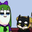 ポプテピピックとニンジャバットマンがコラボ!衝撃の結末に!?【 ポプテピピック】【アニメ】