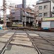阪堺電車、紀州街道ひし形クロスを行く足音【動画】