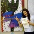 乃木坂46・若月佑美、食物連鎖テーマに「二科展」初入選