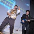 『ロックスミス』ステージでダイノジ大地のエアギター&リアルギターが炸裂【UBIDAY2012】
