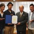 蒲田出身の3人組シクラメン、大田区観光PR特使 第一号に任命